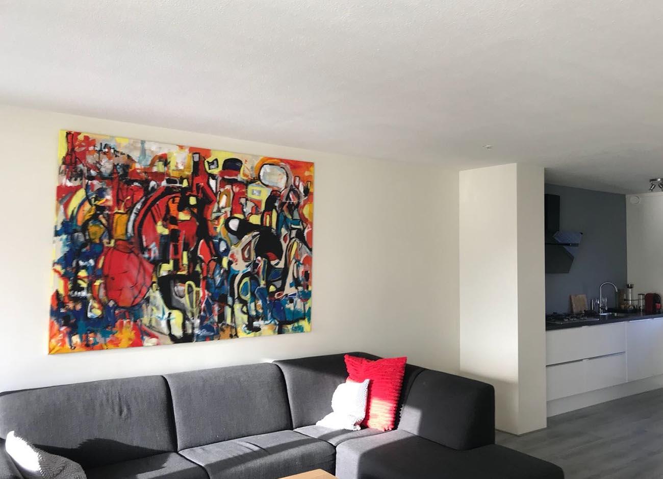 Jogchumskunst - Jogchum Veenstra kunst - Citylife pt 1 2018 inspiratie foto 2