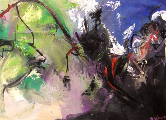 Jogchumskunst - Jogchum Veenstra kunst - Onderwater wereld 2014