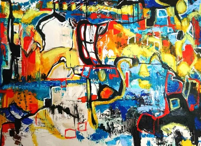 Jogchumskunst - Jogchum Veenstra kunst - City 2015