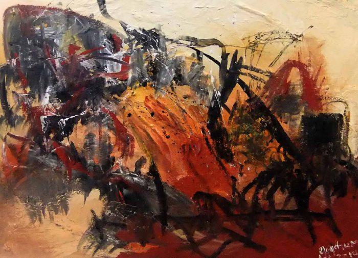 Jogchumskunst - Jogchum Veenstra kunst - De Haven 2014