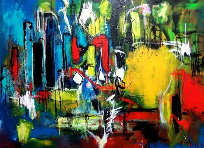 Jogchumskunst - Jogchum Veenstra kunst - Leeuwarden City 2015
