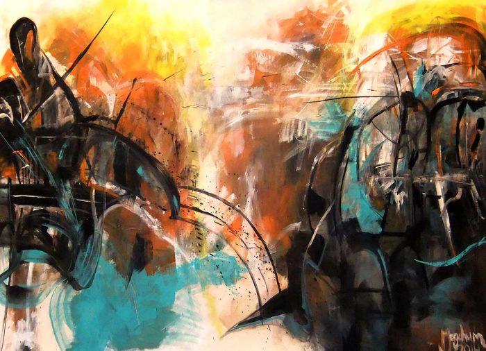 Jogchumskunst - Jogchum Veenstra kunst - War 2016