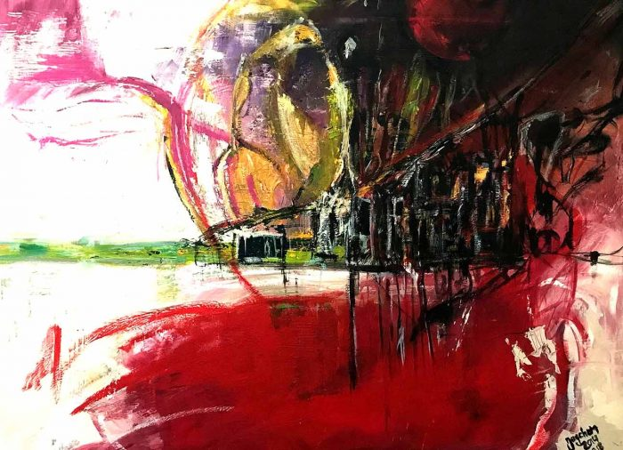 Jogchumskunst - Jogchum Veenstra kunst - What about Syrië 2018