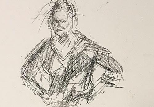 Jogchumskunst - Jogchum Veenstra collectie - schetsen