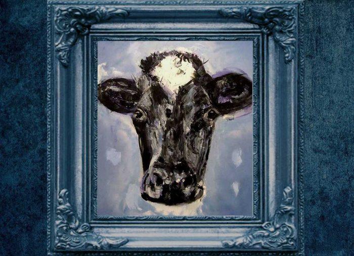 Jogchumskunst - Jogchum Veenstra kunstwerken - Realisme - Another cow