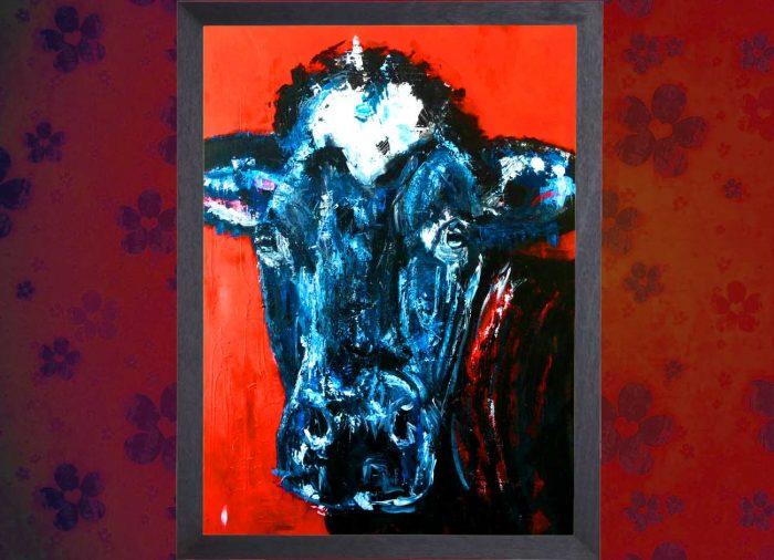 Jogchumskunst - Jogchum Veenstra kunstwerken - Realisme - Cow